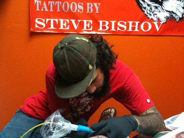 Steve bishov tattoo artist — 1