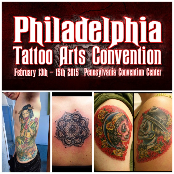 Alex Feliciano at the 2015 Philadelphia Tattoo Convention