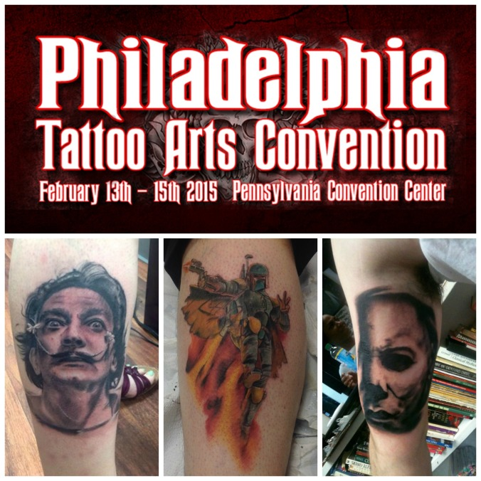 Bobby Trefz at the 2015 Philadelphia Tattoo Convention.