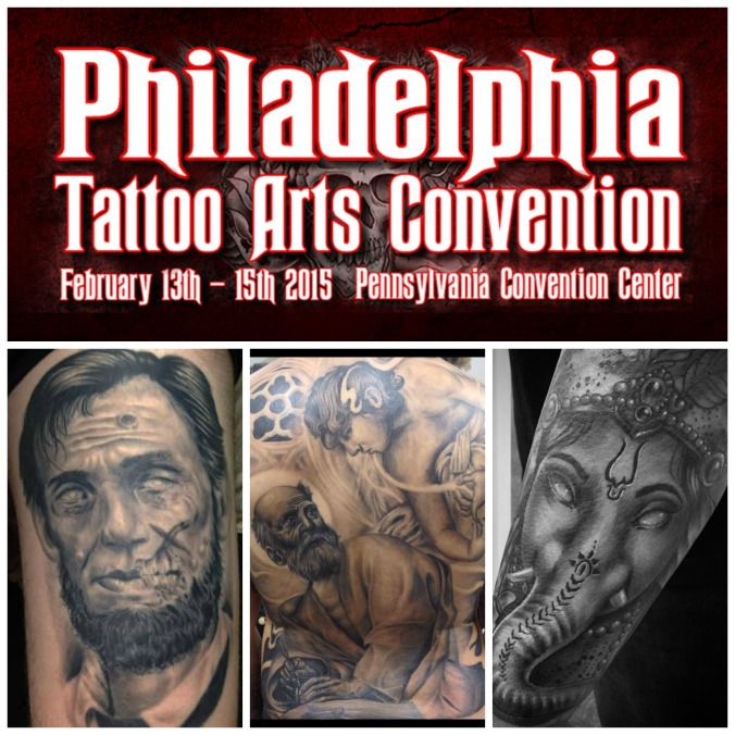 Kevin Soto at the 2015 Philadelphia Tattoo Convention.