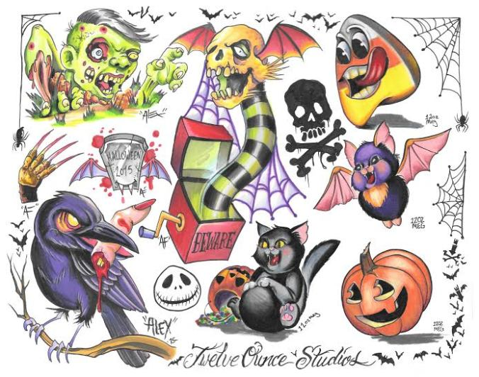 Collaboration flash sheet by Alex Feliciano and Meghan Patrick!