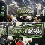 New banners in action at the convention.