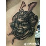 Samurai hanya mask by Meghan Patrick.